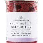 das kraut mit cranberries