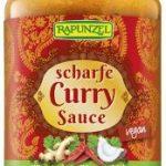 Curry-Sauce scharf