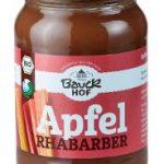 Apfel-Rhabarbermus Bio