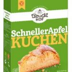 Schneller Apfelkuchen glutenfrei  Bio