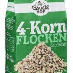 4-Korn Flocken ohne Weizen Demeter