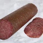 Chiemgauer Haussalami aus Rind- und Schweinefleisch