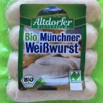 Bio Münchner Weißwurst 240g