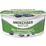 AN Bio-Rahmjogurt Heidelbeere-Cassis 10%