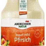 AN demeter Jogurt mild Pfirsich 3,8%