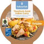 Thunfisch-Salat Indian Curry, mit Thunfisch aus Angelruten- Fischerei