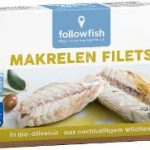 Makrelen Filets in Bio-Olivenöl