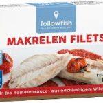 Makrelen Filets in Bio-Tomatensauce