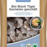 Bio Black Tiger Garnelen geschält