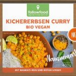 Kichererbsen Curry Bio Vegan