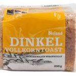 Bio Dinkel-Vollkorntoast