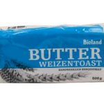 Bio Weizen Butter Toast