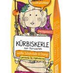 Geröstete Bio-Kürbiskerne veredelt mit weißer Schokolade & Orange