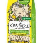 Geröstete Bio-Kürbiskerne veredelt mit Joghurt-Schokolade & Zitrone