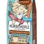 Geröstete Bio-Kürbiskerne veredelt mit Vollmilchschokolade & Lebkuchen
