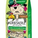 Geröstete Bio-Kürbiskerne veredelt mit dunkler Schokolade & Kokos
