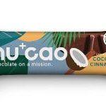 nucao Bio-Schokolade mit Hanfsamen Kokos Zimt