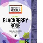 Biologischer Blackberry Rose Tea. Fairtrade. 20 Teebeutel.