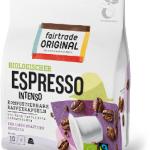 Biologische Kaffee Kapseln Espresso Intenso, kompostierbar